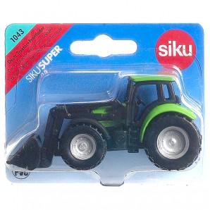 Deutz Traktor mit Frontlader 1:64,