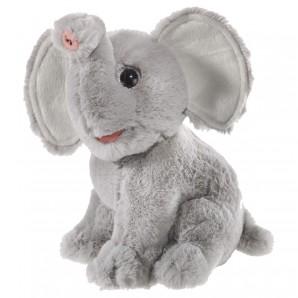 Elefant sitzend 23 cm,