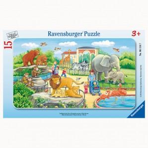 Puzzle Ausflug in den Zoo 15 Teile,