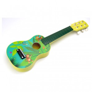 Gitarre klein Giraffenaffen 54x17x5 cm,