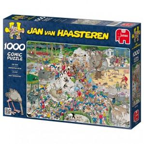 Puzzle Im Zoo, 1000 Teile ausgelegt 68x49 cm