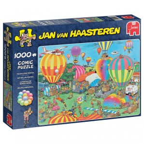 Puzzle Das Ballonfestival 1000 Teile