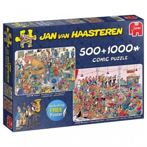 Puzzle Let's Party! 500 & 1000 Teile