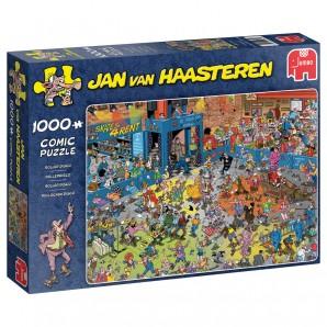 Puzzle Rollschuh Disco 1000 Teile