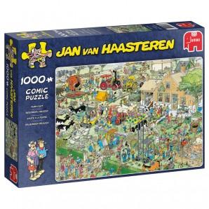 Puzzle Bauernhof Besuch 1000 Teile