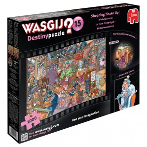 Puzzle Wasgij Destiny 15 Einkaufswahnsinn,