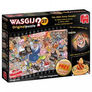 Puzzle Wasgij Original Nr.27 1000 Teile