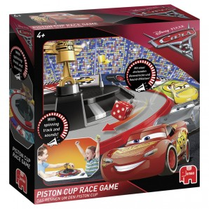 Piston Cup Race, Cars 3 2-4 Spieler,