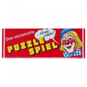 Das verzwickte Clown Puzzle Legespiel mit 9 Karten