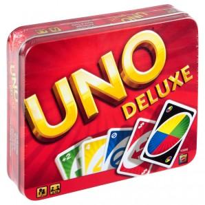 UNO Deluxe, d/f/i ab 7 Jahren,