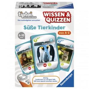 Tiptoi Süsse Tierkinder Wissen & Quizzen 3 in 1