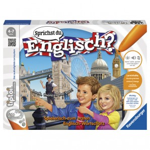 Tiptoi Sprichst du Englisch? Lernspiel,