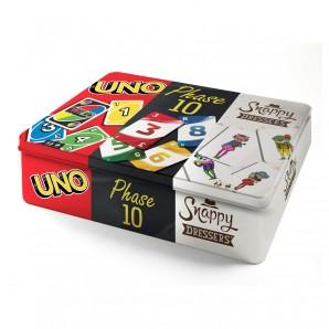 Kartenspiel-Klassiker 3 in 1 in Metalldose,