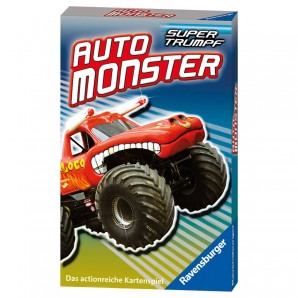 Quartett Auto Monster 7-99 Jahre,