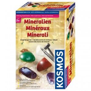 Ausgrabungsset Mineralien, d ab 7 Jahren,
