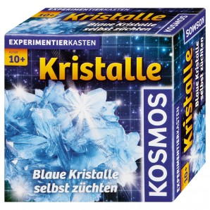 Kristalle züchten blau, d Experimentierkasten