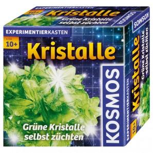Kristalle züchten grün, d Experimentierkasten