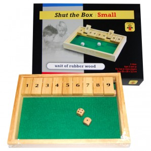 Shut the Box 28x20 cm,