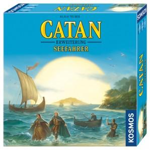 Catan Seefahrer, d Erweiterung zum Basisspiel