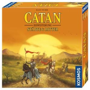 Catan Städte und Ritter, d Erweiterung zum Basisspiel
