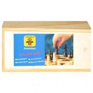 Schachfiguren 77 mm Ahorn,