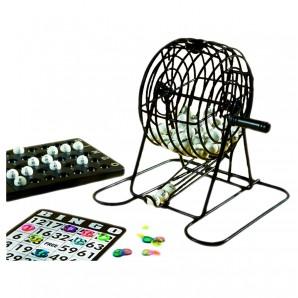 Bingo Spiel komplett Bingokäfig 13.5 cm,