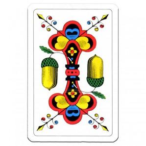 Jasskarten einfach Karten 57x88 mm