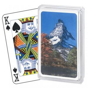 Bridge Souvenir, Matterhorn 52 Karten u. 3 Joker