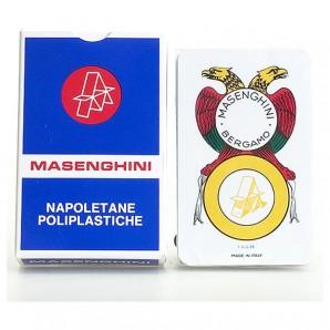 Napoletane, blau italienische Spielkarten