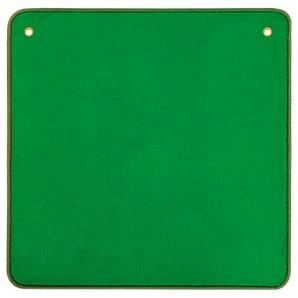 Jassteppich uni, grün 60x60 cm,