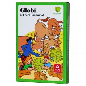Quartett Globi Bauernhof, d 32 Karten
