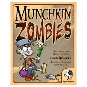 Munchkin Zombies Basisspiel mit 168 Karten