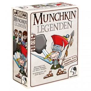 Munchkin Legenden 1+2 ab 12 Jahren,