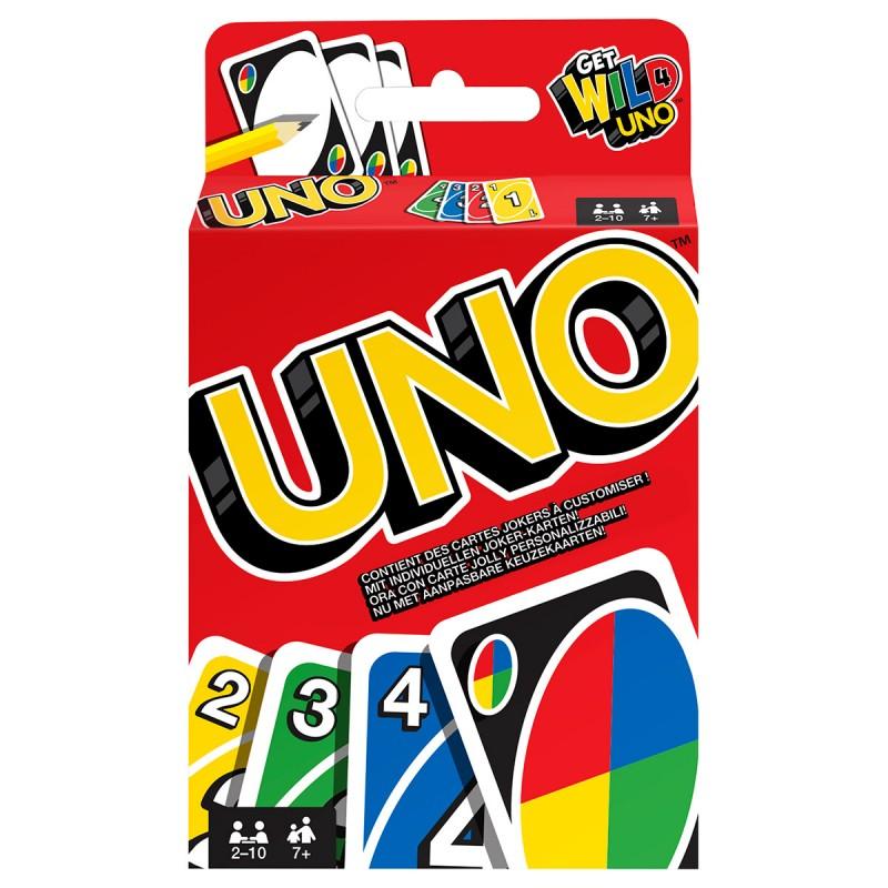 UNO Kartenspiel, d/f/i ab 7 Jahren,