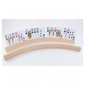 Kartenhalter Holz L: 50 cm,