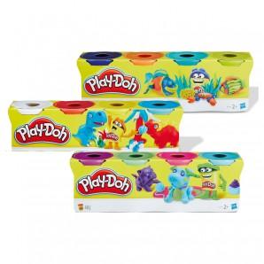 Play-Doh 4-er Pack Knete 4 Dosen à 112g,