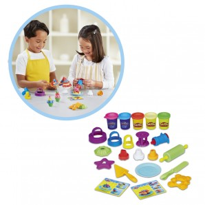 Play-Doh Backset 5 Dosen Knete,