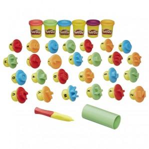 Play-Doh Buchstaben, f französiche Version