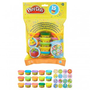 Play-Doh Party Bag 15 Töpfchen Knete à 28 g