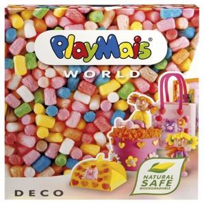 PlayMais World Deco 1000 Stk. mit Zubehör