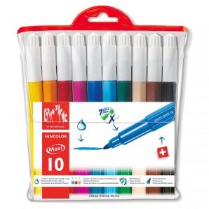 Filzstifte Fancolor Maxi 10 Stück,