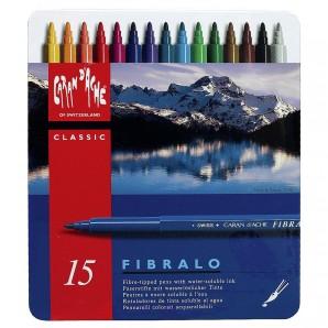 Filzstift Fibralo, 15 Stück ungiftig,
