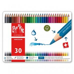 Farbstifte Fancolor 30 Stück wasservermalbar