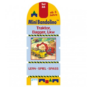 Mini Bandolino Set 66 Traktor,