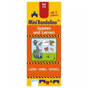 Mini Bandolino Set 73 Spielen und Lernen