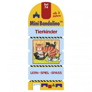 Mini Bandolino Set 74 Tierkinder