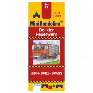 Mini Bandolino Set 72 Bei der Feuerwehr