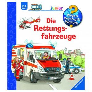 Die Rettungsfahrzeuge
