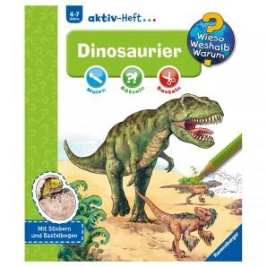Dinosaurier, Aktiv-Heft