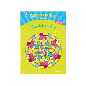 Malbuch Mandala Glitzerzauber,